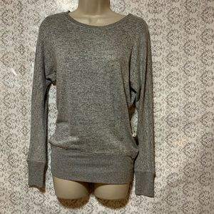 NWT Seriously Soft Gray Long Sleeve Top. Sz XS